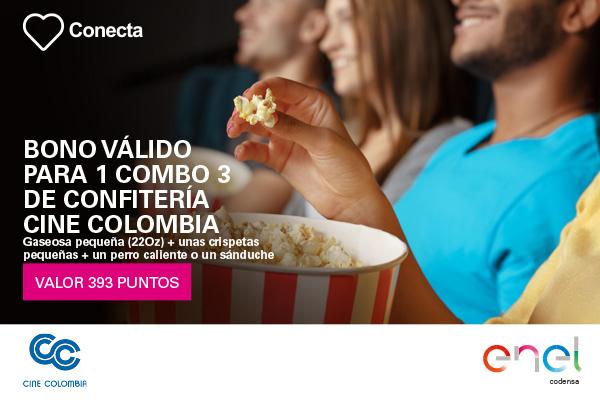 Combo 3 Confitería Cine Colombia